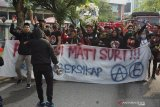 Aliansi Suporter Indonesia unjuk rasa di Stadion Bukit Jalil