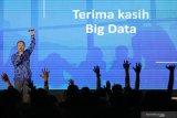 Direktur PT Envy Technologies Indonesia Tbk Mahendra MSC memberikan pemaparan pada Konferensi Big Data Indonesia 2019 di Surabaya, Jawa Timur, Selasa (19/11/2019). Dalam konferensi itu juga dilakukan penandatangan nota kesepahamam (MoU) kerjasama PT Envy Technologies Indonesia Tbk dengan PT Dua Empat Tujuh (S247) dalam mendesain, mengembangkan dan mengimplementasikan teknologi Big Data ber-Kecerdasan Buatan (Artificial Intelligence), IoT (Internet of Thing), teknologi Blockchain, Big Data Cyber Security (Keamanan Siber untuk Big Data), serta untuk mempromosikan hasil produk-produk kerjasama tersebut di negara-negara anggota ASEAN bersama Indonesian Big Data for Sustainable Well Being Initiative. Antara Jatim/Didik S/ZK
