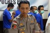 Kapolres Palu sebut tindak kriminal menurun tahun 2019