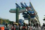 Pembangunan tol layang AP Pettarani Makassar rampung Juni 2020