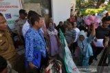 Demo penyintas bencana gempa dan tsunami di Kantor Dinsos Kota Palu