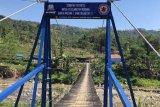 Komunitas VRI bangun jembatan gantung bantu rakyat di daerah terpencil