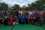 Banyuasin borong emas sepak takraw putri  Porprov Sumatera Selatan