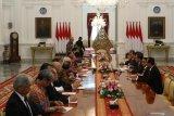 Presiden Jokowi bahas peningkatan kerja sama dengan Jepang