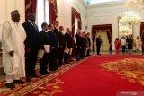 14 Dubes Luar Biasa dan Berkuasa Penuh tiba di Istana