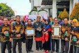 Pemkab Solok terima penghargaan Swasti Saba Wiwerda dari Kementerian Kesehatan