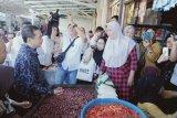 Menteri Perdagangan pantau pasar tradisional Pa'baeng-baeng Makassar