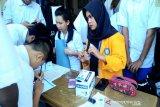 BNN Sultra tes urine pelajar SMAS Kesehatan Mandonga Kendari