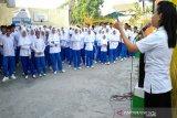 Dosen FK Unsri sosialisasi bahaya  narkoba di sekolah