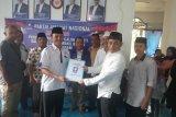 Mantan anggota DPR-RI Taslim mendaftar jadi calon Bupati Agam ke PAN
