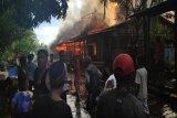 Polisi selidiki kebakaran yang menghanguskan 30 rumah di Mappi