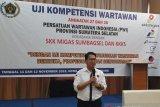 PWI Sumsel fasilitasi uji kompetensi  anggotanya secara gratis