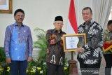 Sumbar terima penghargaan keterbukaan informasi publik sebagai provinsi informatif