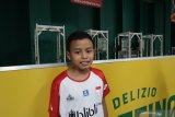 Hilman, bocah audisi PB Djarum  bertekad jadi atlet pelatnas