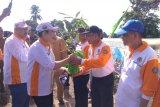 BPDAS dan Hutan Lindung Musi bagikan 5.000 bibit tanaman ke warga