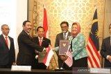 Akhirnya, Indonesia dan Malaysia tanda tangani kesepakatan batas negara