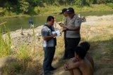 Tim cari seorang anak tenggelam di Sungai Brantas Blitar