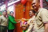 Danrem 172/PWY resmikan bangunan dan arena permainan TK Kartika Waena