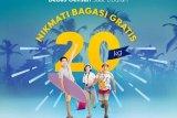 Sriwijaya gratiskan biaya bagasi 20 kilogram untuk penerbangan Natal-Tahun Baru