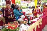 10 daerah di Sumatera Barat adu santiang memasak randang di Payakumbuh (video)