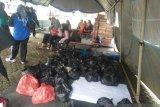 Solok Selatan Sediakan 3.300 Nasi Bungkus Bagi Korban Banjir