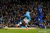 Manchester City hajar Chelsea 2-1. Berikut ringkasannya