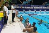 Tim polo air Indonesia langsung  jalani latihan setibanya di Clark