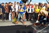 Rekonstruksi jalan terdampak bencana 2018 di Sulteng harus selesai 2021