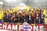 Menangi partai final, Thailand pertahankan gelar Kejuaraan Sepak bola Pelajar Asia