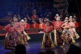 Ratusan penari tampilkan 16 tari Semarangan di Taman Budaya Jawa Tengah