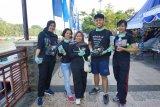 Sejumlah pembaharu muda kampanye pengendalian puntung rokok di 9 kota