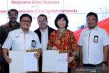 Telkom jajaki kerja sama pengembangan bisnis cloud dengan Cisco Indonesia