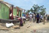 BPBD sebutkan 84 rumah penduduk terdampak bencana angin kencang di Kupang