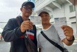 Suporter Indonesia dari Hong Kong-Laos saksikan laga kontra Thailand
