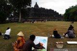 Menyambut wisatawan premium ke Borobudur