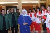 Atlet SEA Games asal Jatim dapat suntikan motivasi dari Gubernur Khofifah