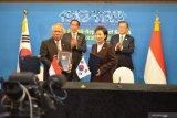 Menlu RI Retno Marsudi jelaskan poin bilateral Indonesia-Korsel untuk relokasi ibu kota