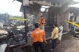 Kebakaran di gedung sekolah dan barak sempat timbulkan suara ledakan