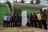Axa Mandiri Syariah peduli hunian juru dakwah korban bencana Sulteng