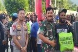 Panglima TNI: Ini kunjungan kerja perdana Kapolri Idham Azis