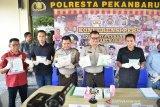 VIDEO - Polresta Pekanbaru sita belasan ribu butir narkoba selama Operasi Antik 2019