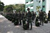 Ratusan Taruna Akademi Militer latihan praja bakti di Sleman