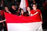 Suporter Indonesia bawa 20 bendera Merah Putih