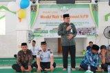 219 santri warga binaan Rutan Klas I Makassar diwisuda