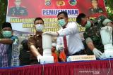 Polda Sultra musnahkan barang bukti 1,339 kg sabu dan 15 pil ekstasi