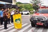 Wali Kota Palangka Raya berangkatkan 100 kontingen ikut kemah ELY 2019