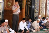 Kapolda Sumsel ajak jamaah  masjid jaga kamtibmas