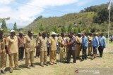 Bupati Jayawijaya cek pelaksanaan pembangunan di kampung-kampung