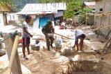 TNI di Kepulauan Marore membantu sukseskan program stop BABS