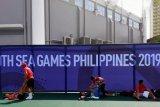 Tim tenis SEA Games tiba sehari lebih cepat  antisipasi hambatan